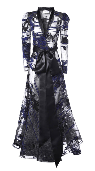 Exotic Redingote Gown by SF Courture of San Francisco | Nineteenth Amendment