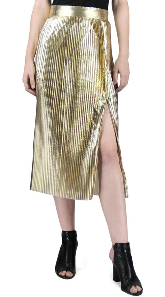 Gold Column Skirt