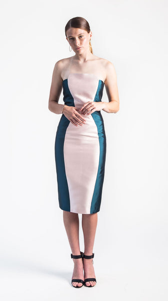 Haven Strapless Cocktail Dress