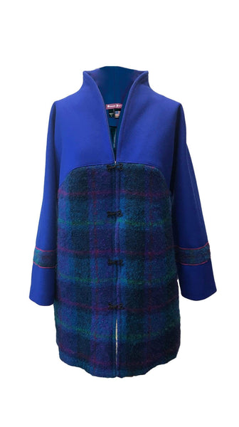 Just CAZ Coat in Blue by Bianco Zidik | Nineteenth Amendment