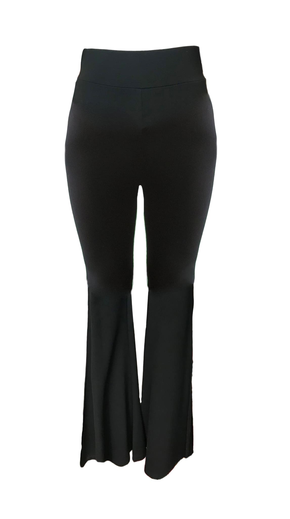 Black Madison Side-Slit Yoga anywhere Pant by Bianca Zidik | Nineteenth Amendment