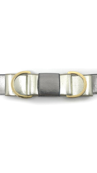 Gun Metal Belt Variation III (Bow) by Leetal Platt Made in New York Accessory | Nineteenth Amendment