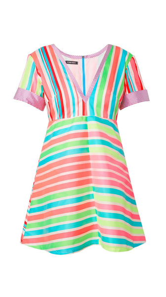 Mixed Stripe Dress by Meghan Hughes | Nineteenth Amendment