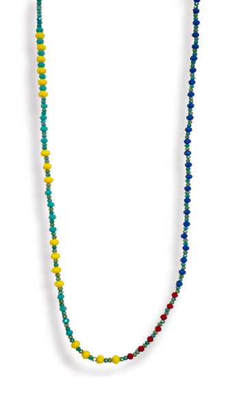 Multi-Color Strand Necklace