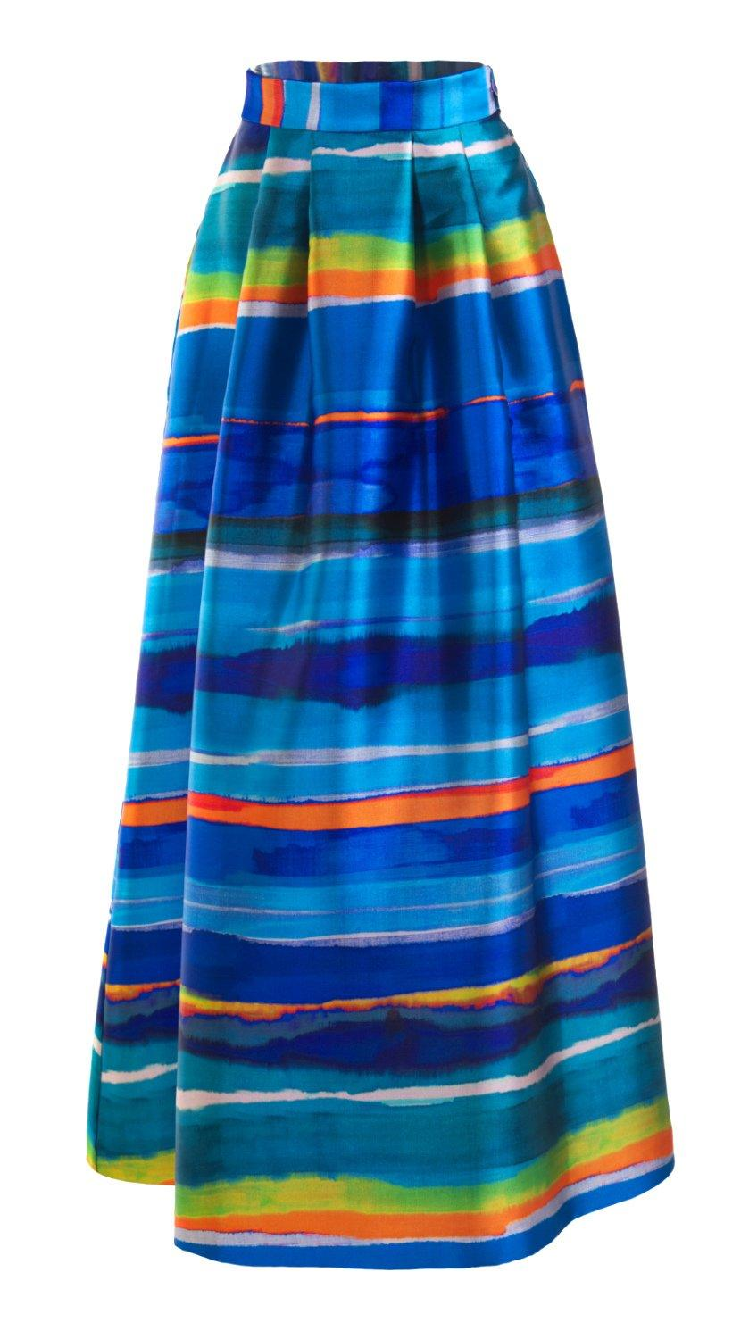 Vibrant Puna Maxi Skirt by SF Couture | Nineteenth Amendment