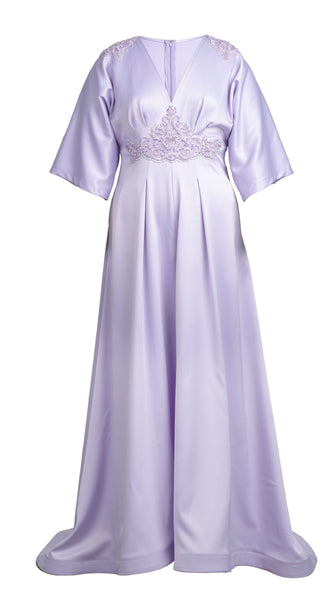 Purple Regal Gown by Nerecina | Plus Size Bridal and Formal | Nineteenth Amendment