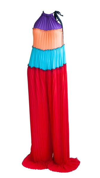 Color-blocked Rumba Jumpsuit by Bohn Jsell | Nineteenth Amendment
