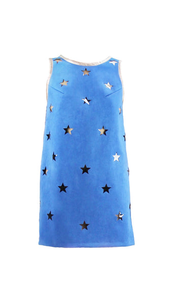 Blue Star Mini Dress by Meghan Hughes Nineteenth Amendment