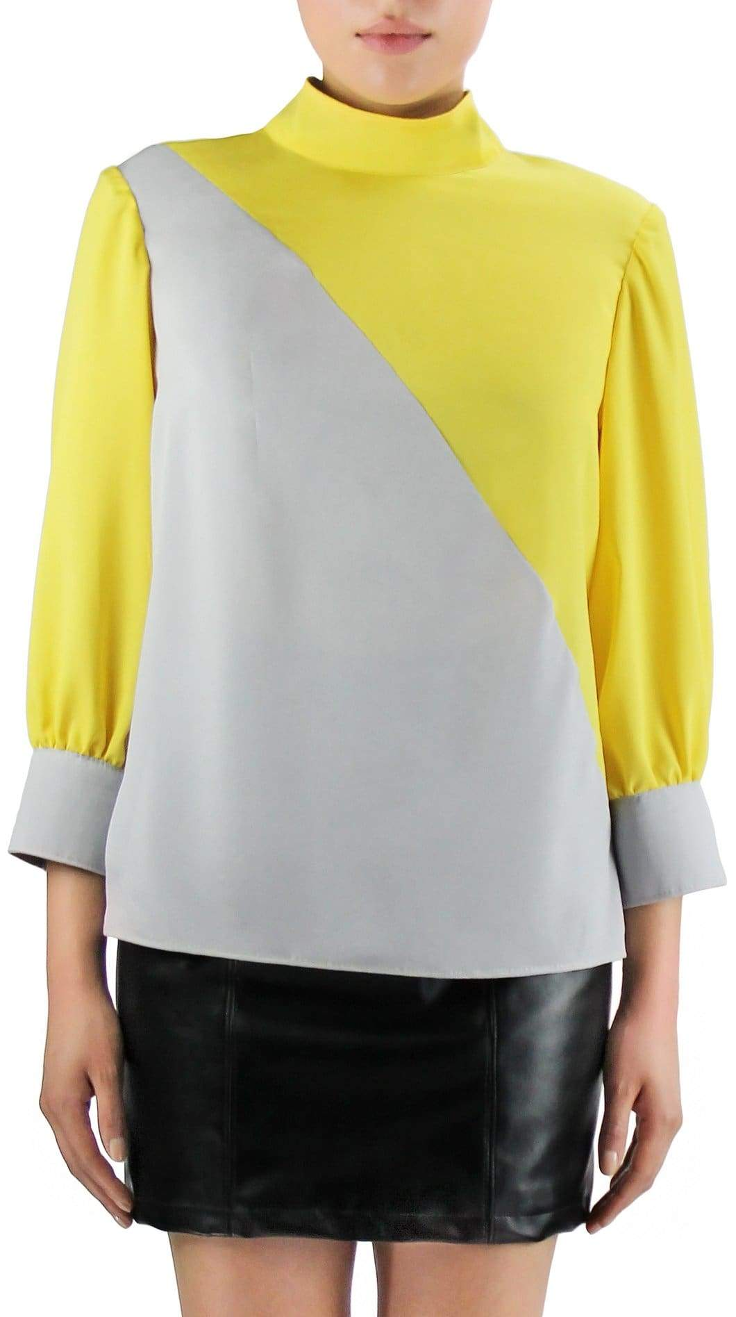 Starstruck Tie Blouse by Meghan Hughes | Nineteenth Amendment