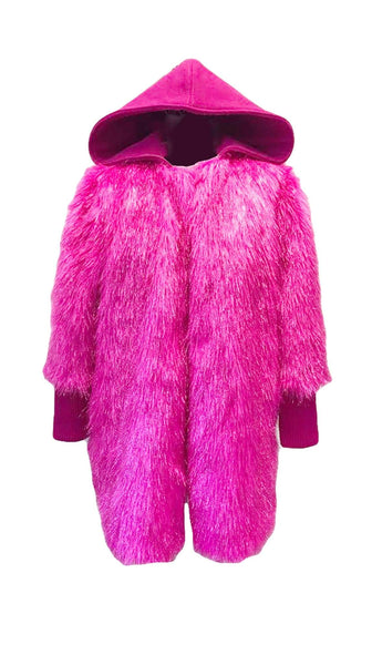 The JOJO Pink Fur Coat by Bianco Zidik | Nineteenth Amendment