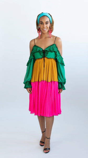 Tropicala Day Dress