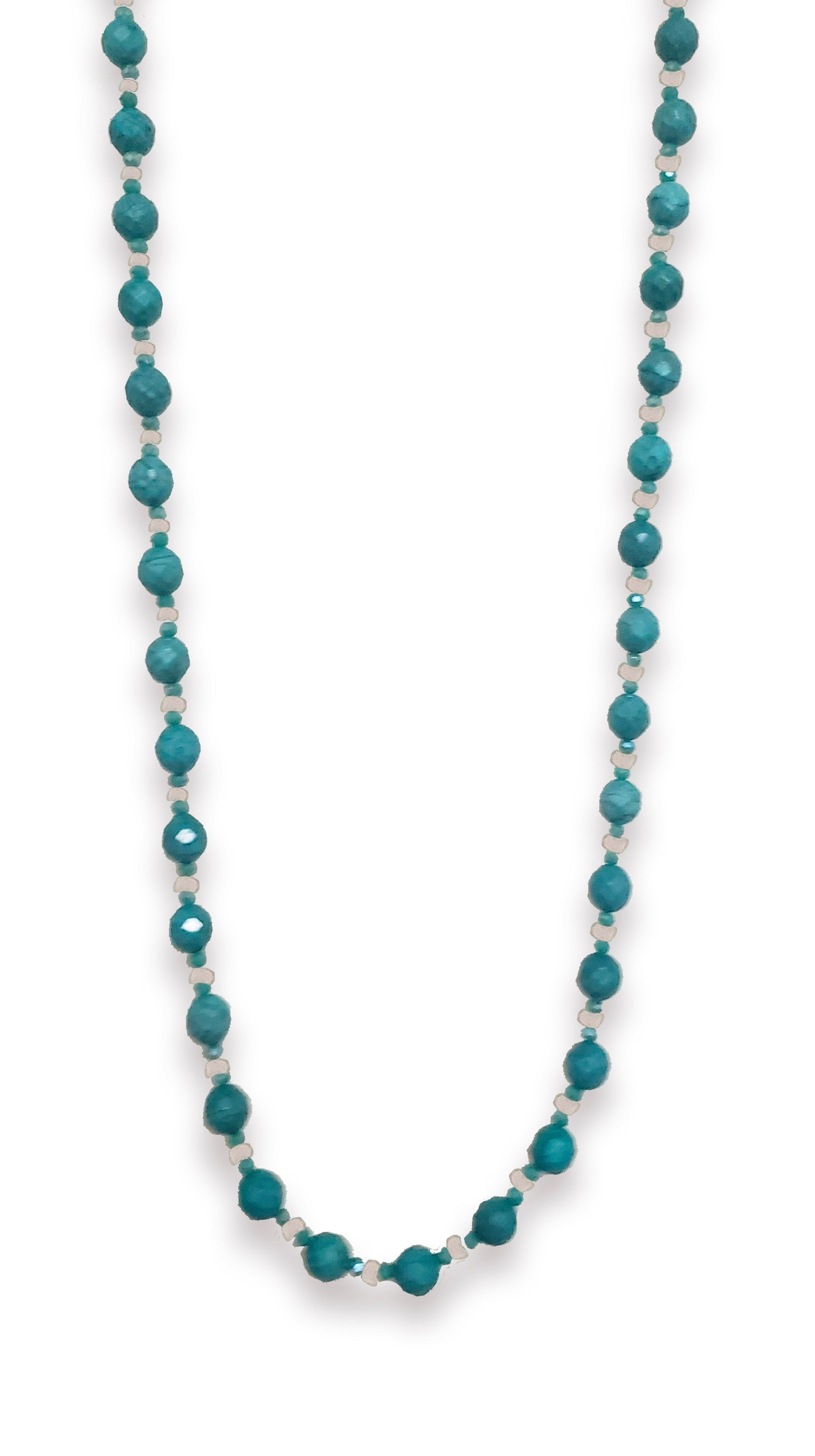 Turquoise Bead Necklace by Soul by Tapti Tapan | Nineteenth Amendment