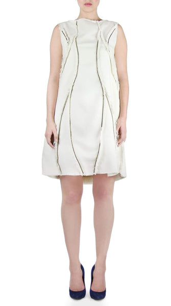 Zipper Panel Dress