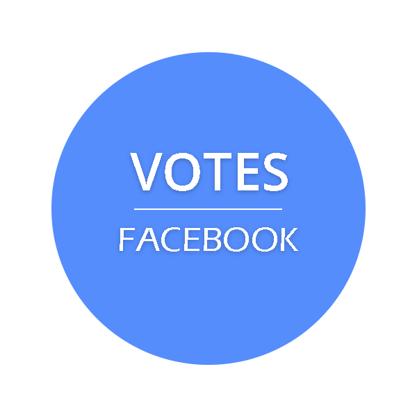 Internationale Facebook Votes