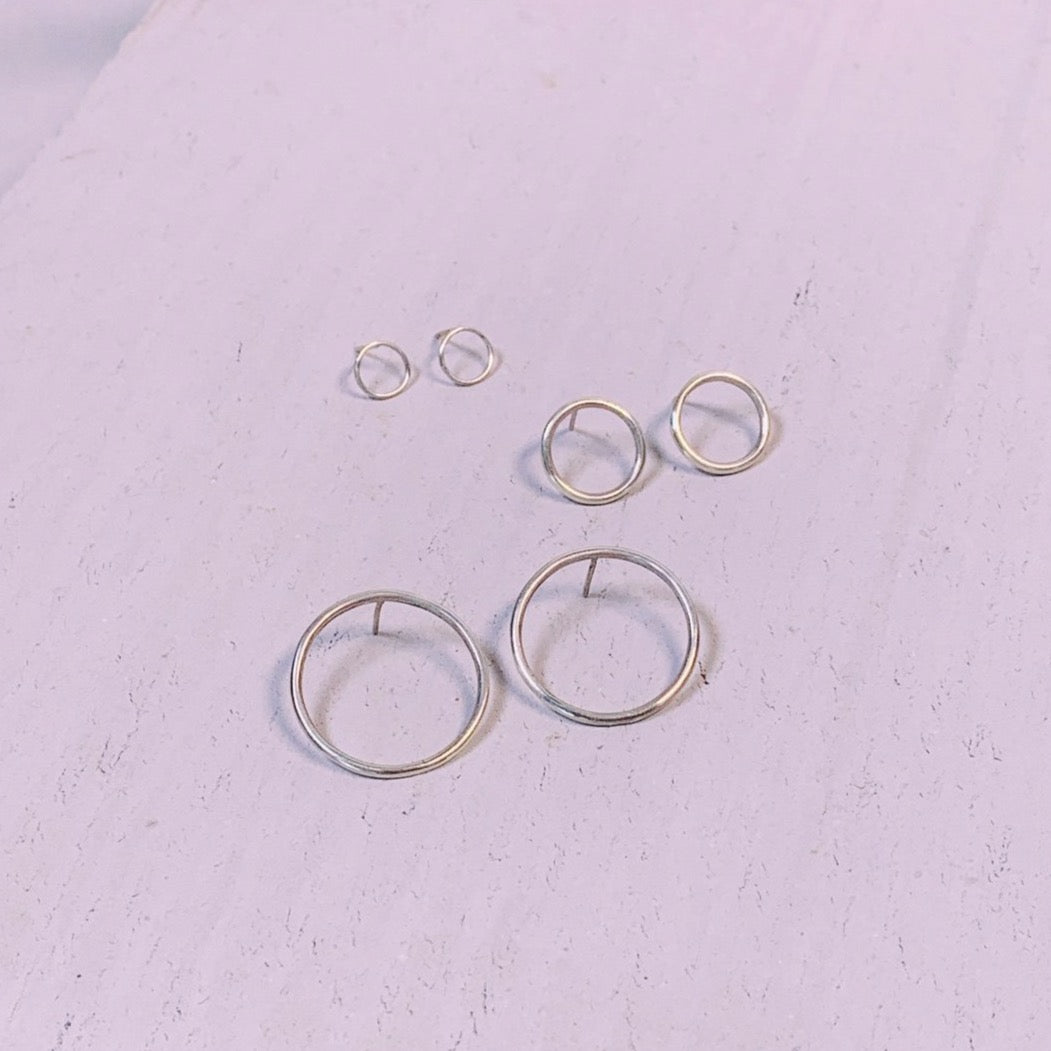 Posy Jewels Circle Studs