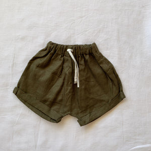 Moon Child Linen Shorties