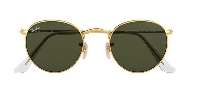 Ray-Ban Round Metal Green Classic Lens G-15