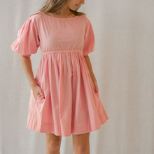 Zoey Mini Dress in Candy Poplin