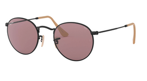 Ray-Ban Round Washed Evolve Black Purple Photochromic