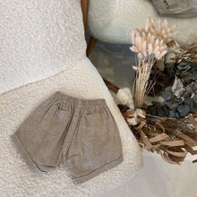 Moon Child Sandstone Linen Shorties