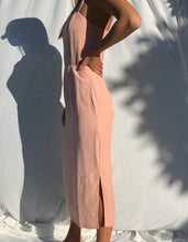 Amalia Dress in Pink Sand