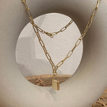 Little Lock Chain Necklace