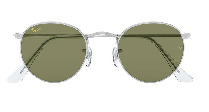 Ray-Ban Round Metal Legend Light Green Classic
