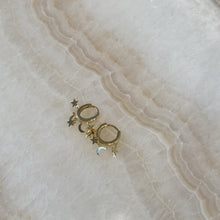La Lune Earrings in Sterling Silver with 18K Gold Plated