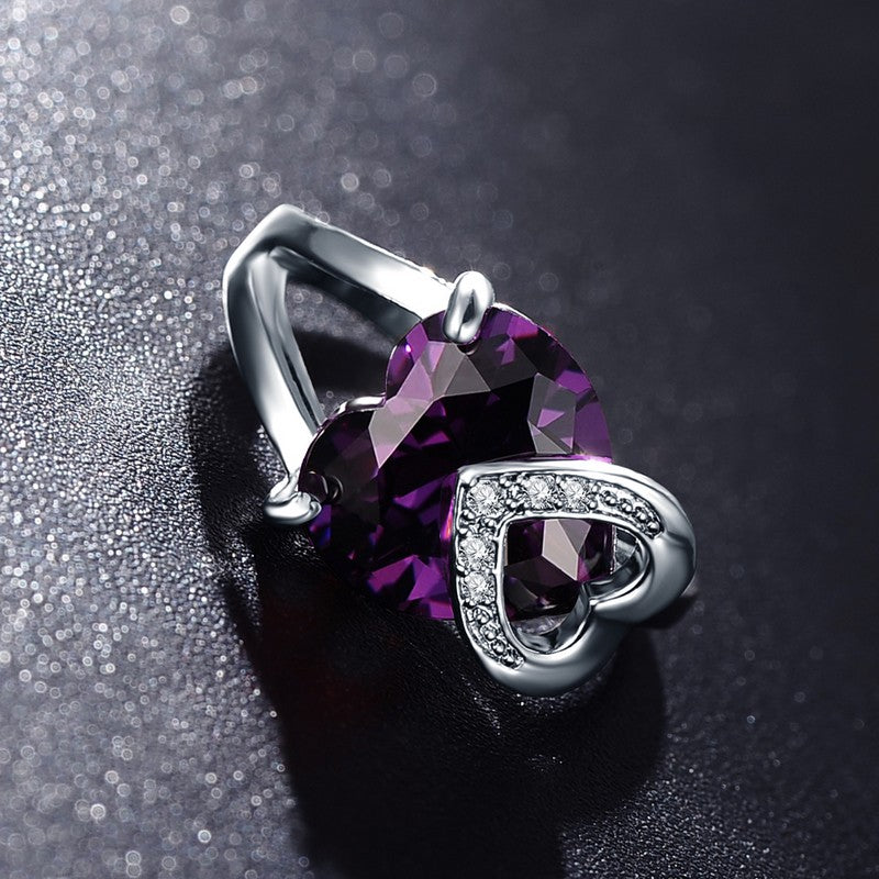 Double Heart Wedding Ring