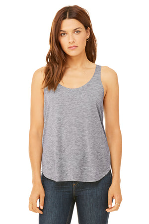 Women's Ultra Soft Flowy Side Slit Tank - Lovely Sportswear