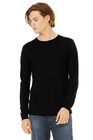 Men's Triblend Long Sleeve - Lovely Sportswear