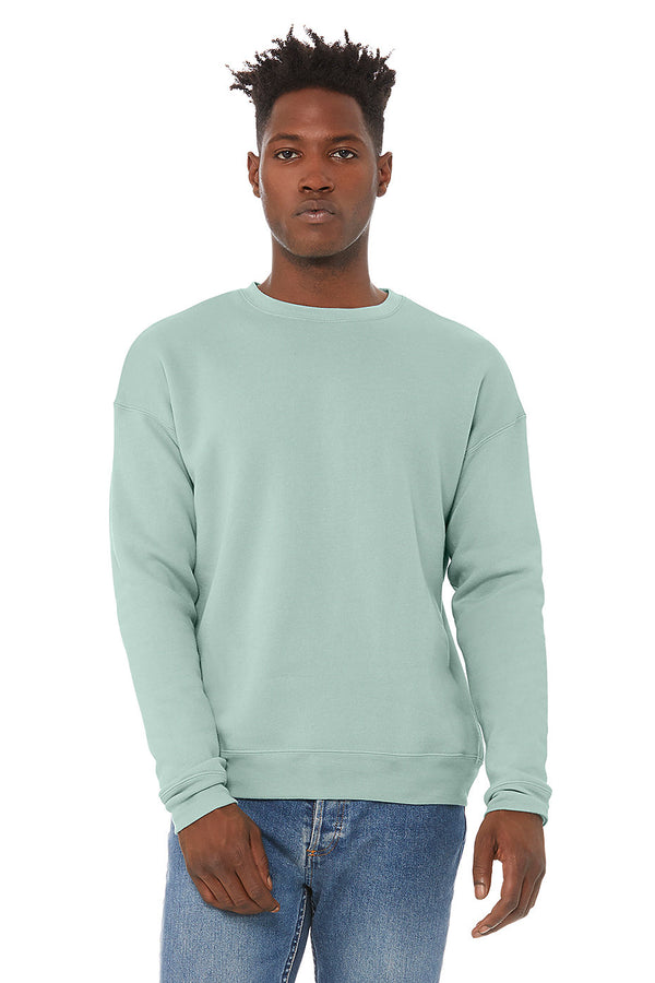 Men's Plush Crewneck Sweatshirt