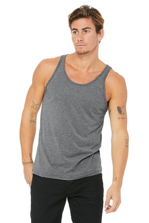 Men's Triblend Performance Tank - Lovely Sportswear