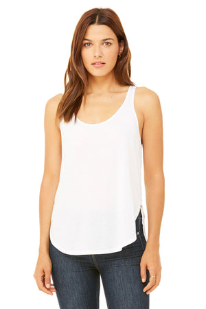 Women's Ultra Soft Flowy Side Slit Tank