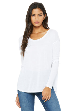 Women's Ultra Soft Flowy Long Sleeve - Lovely Sportswear