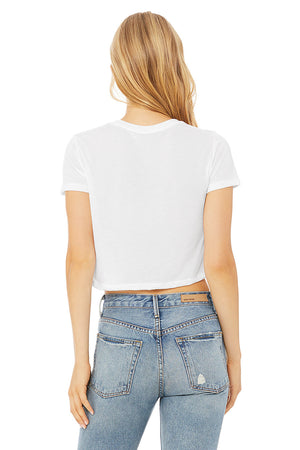 Women's Ultra Soft Flowy Cropped Tee
