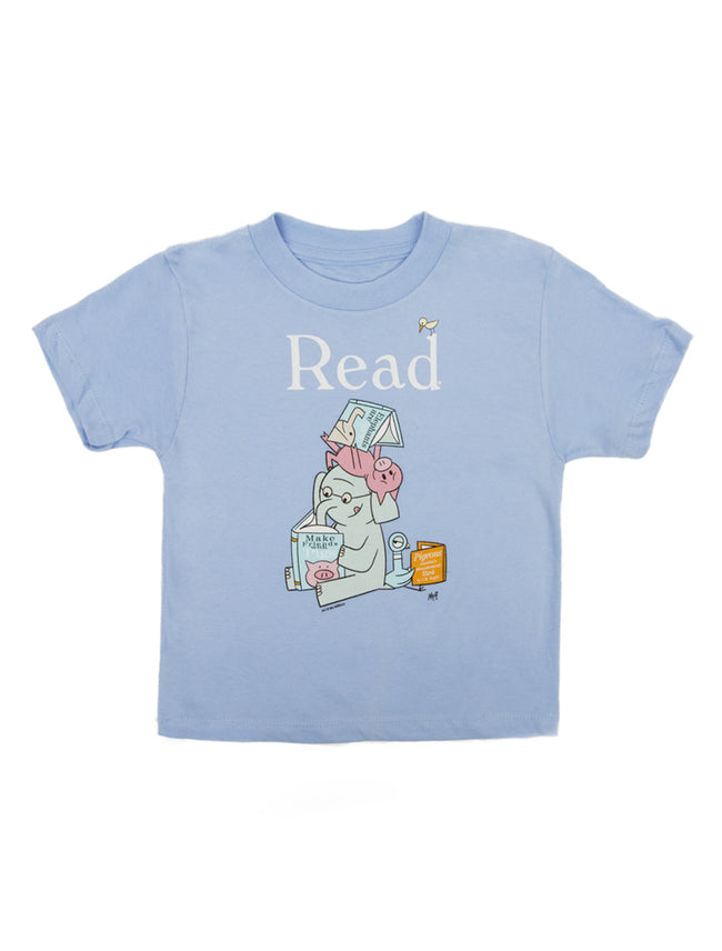 Elephant and Piggie Read Kids Tee