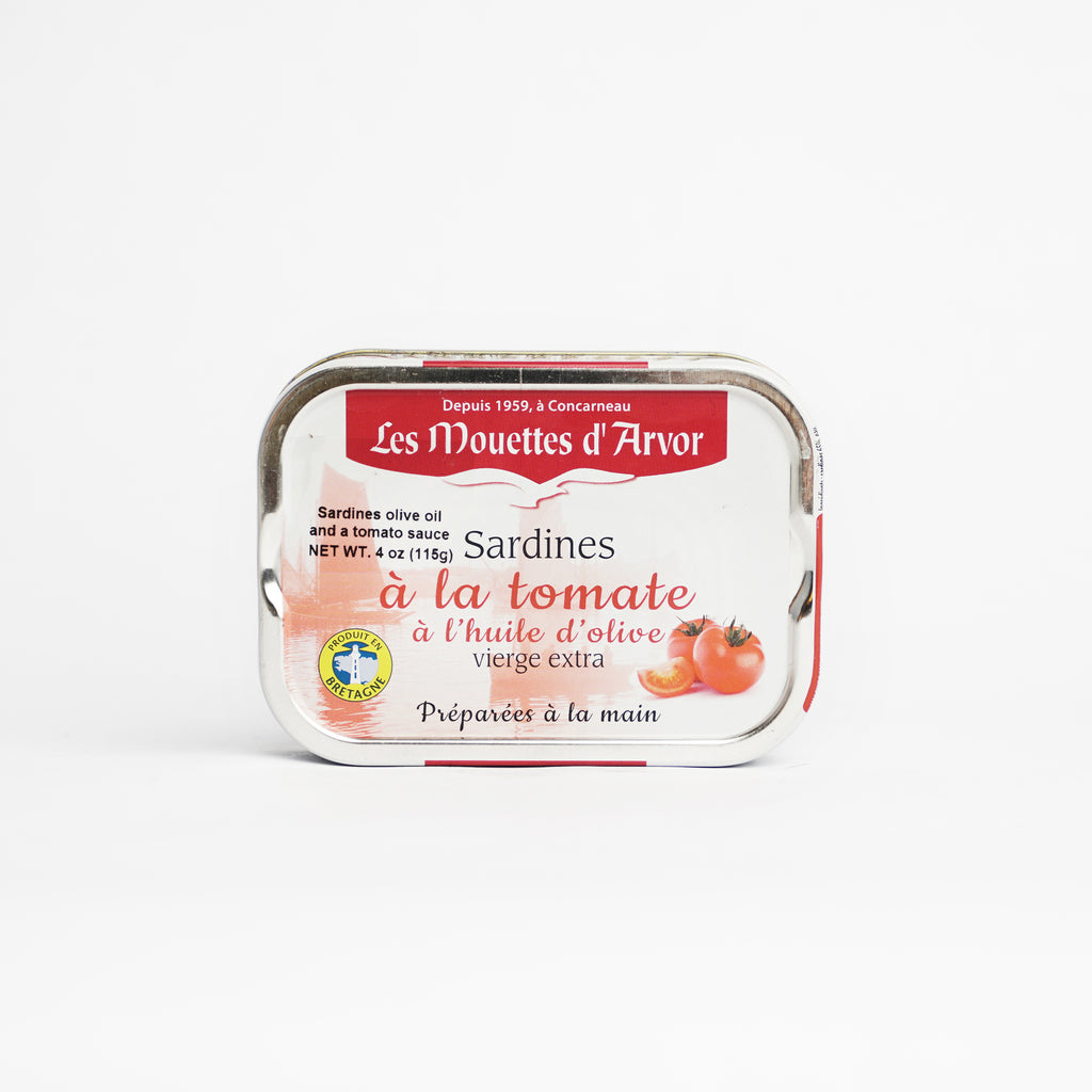 Whole Sardines with Olive Oil & Tomato