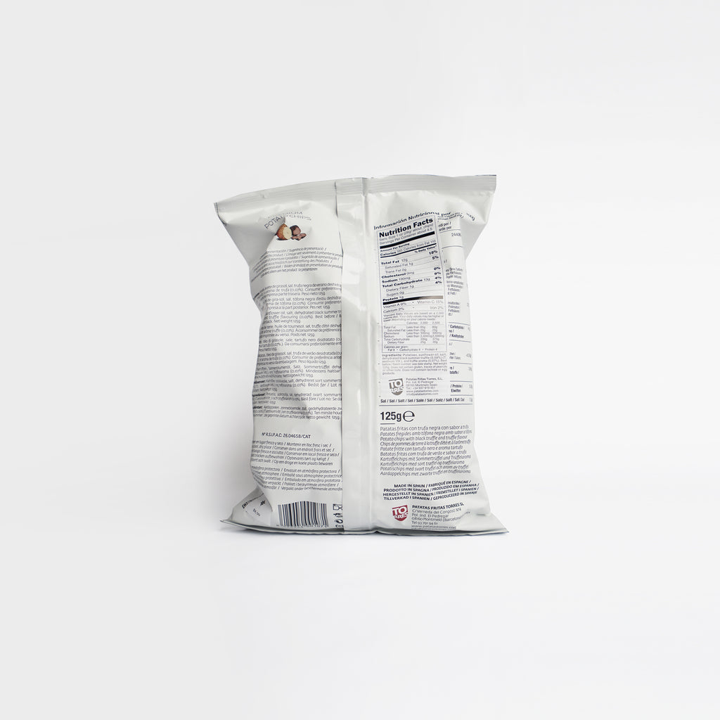 Torres Black Truffle Potato Chips 125g