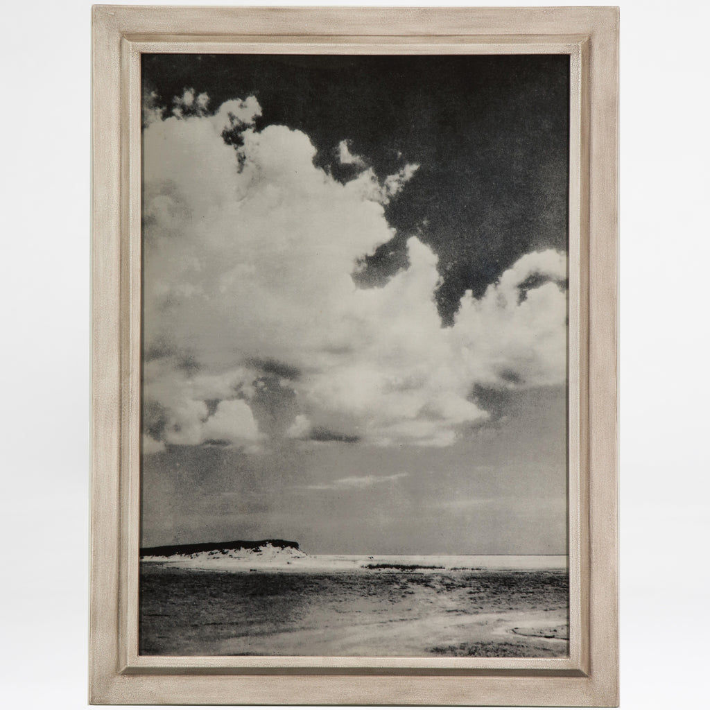 Clouds over the ocean print