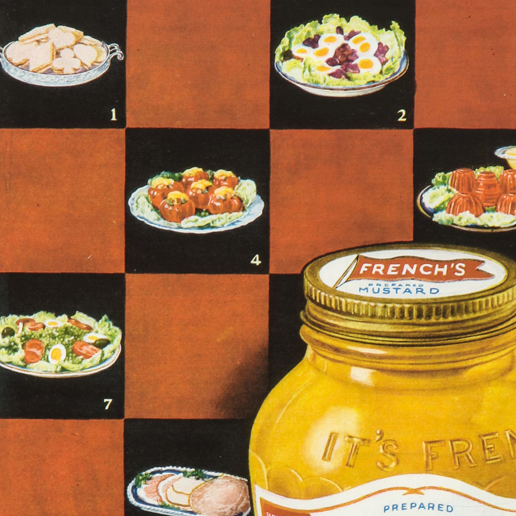 French's cream mustard ad print