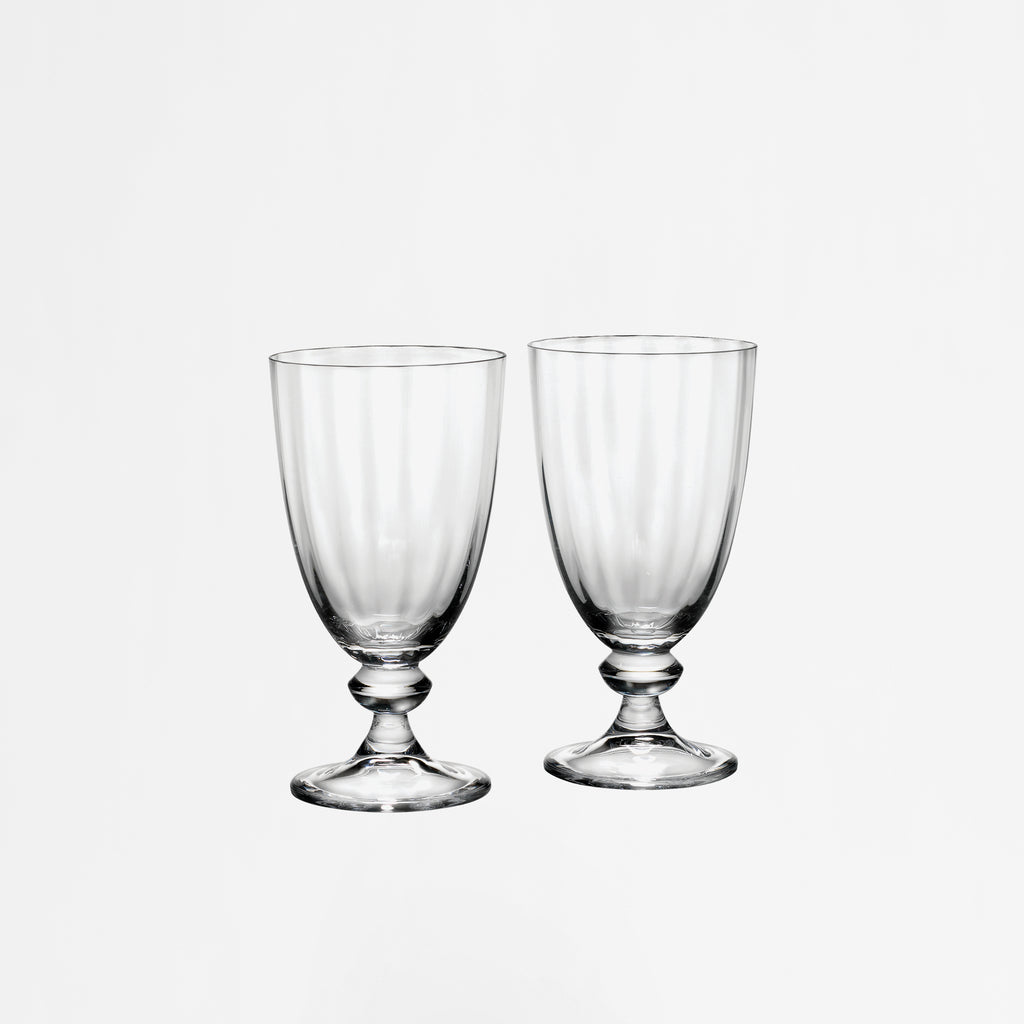 Austin Crystal Goblet,  Set of 2