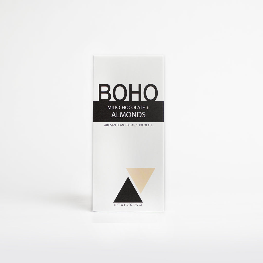 BOHO Milk Chocolate + Almonds