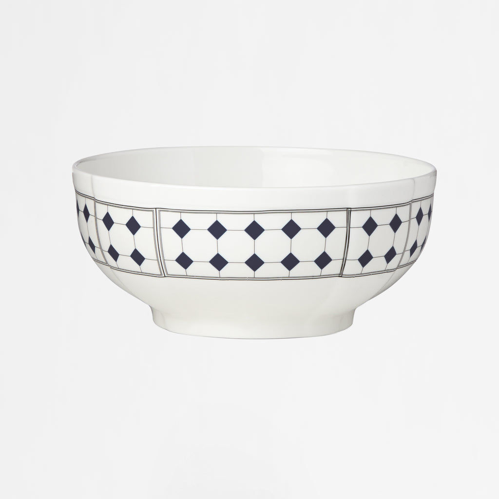 Diamant No.10 Indigo Large Serving Bowl