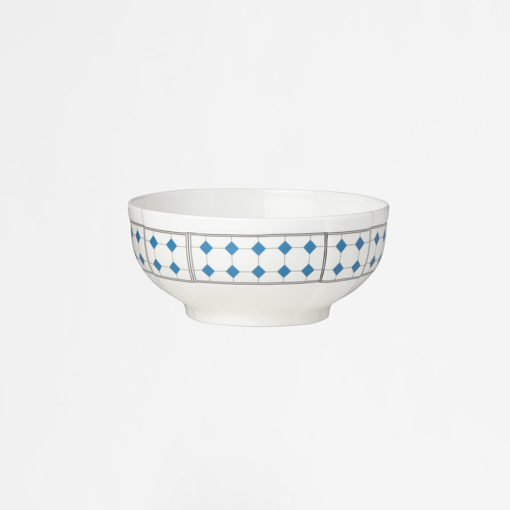 Diamant No.10 French Blue Small Serving Bowl