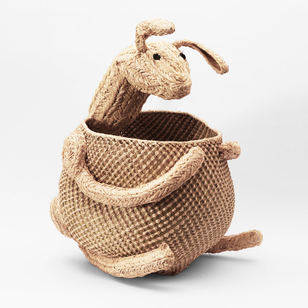 Woven Storage Animal - Kangaroo