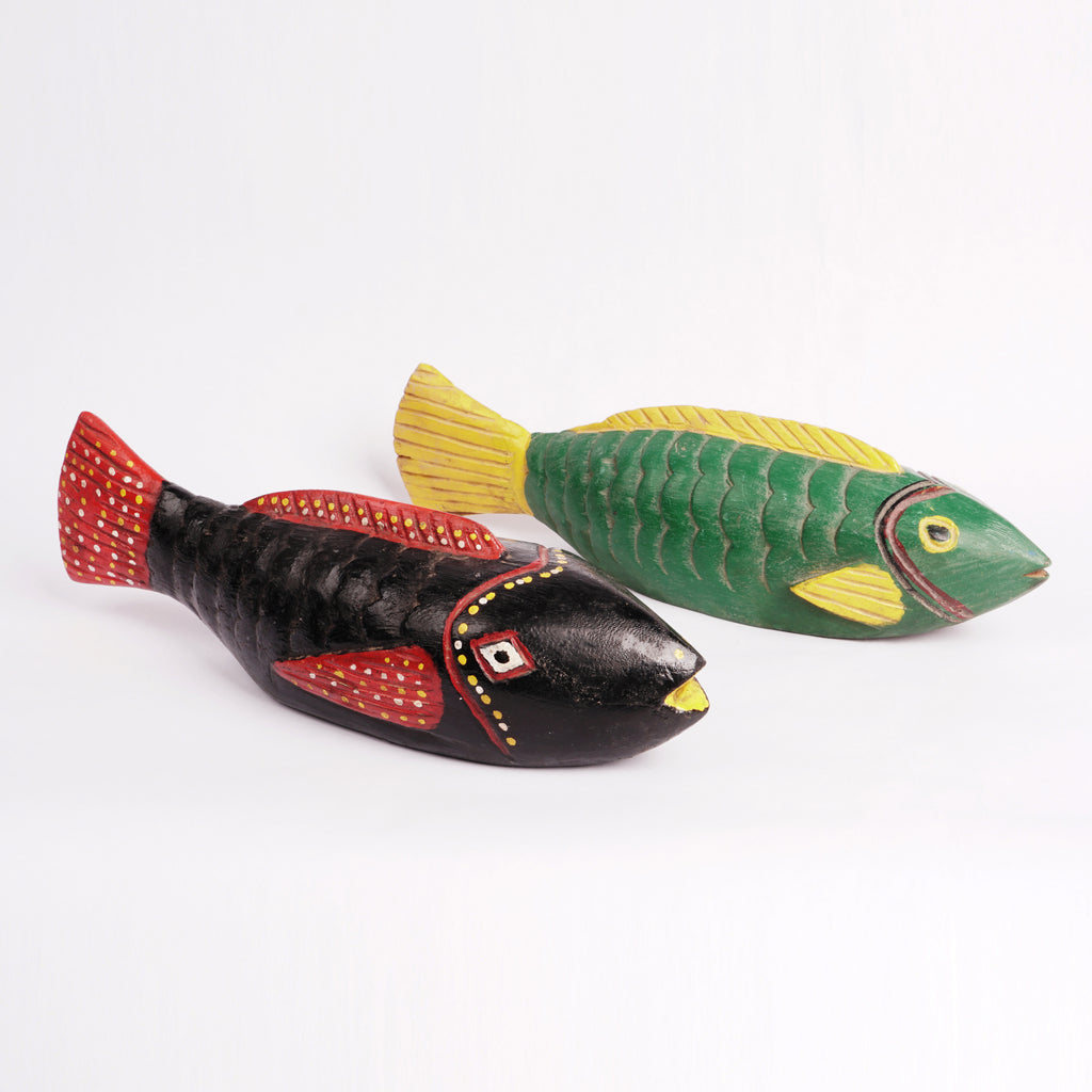 Banana Wood Carved Fish