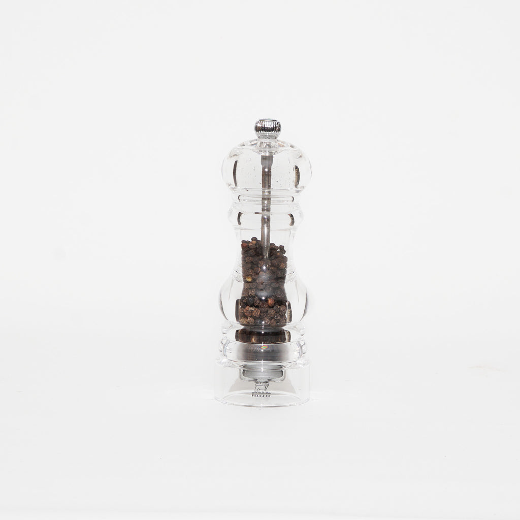 Nancy clear acrylic pepper mill