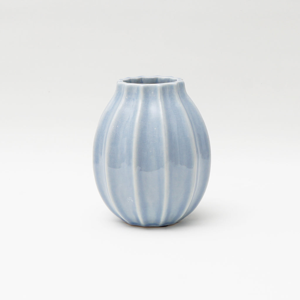 Small Tamara vase in Antique Blue