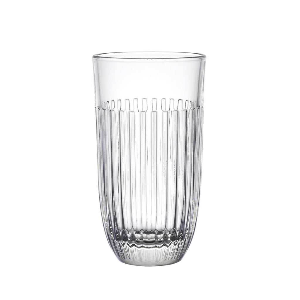 Quessant pattern ice tea glass